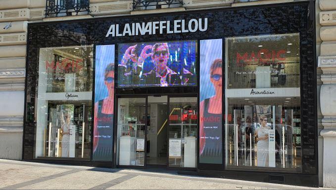 Afflelou sur les Champs-Elysées